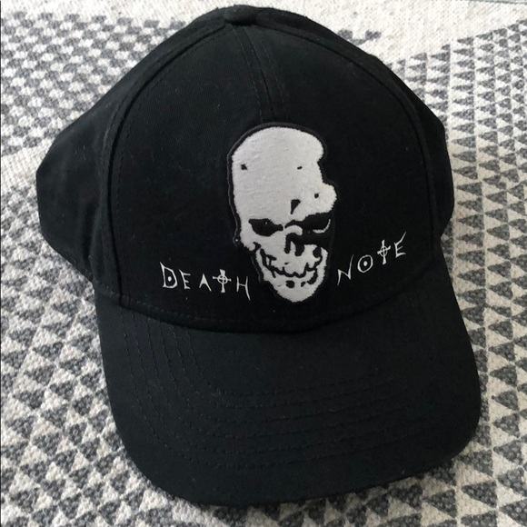 eb68059d50a Hot Topic Other - Death Note Snap Back Hat